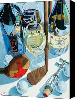 Wine Art Canvas Prints - The Nineteenth Hole  Canvas Print by Christopher Mize