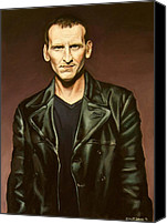 Emily Jones Canvas Prints - The Ninth Doctor Canvas Print by Emily Jones