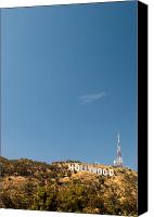 Silver Screen Actress Canvas Prints - The Nora Ephron Shot - Beachwood Canyon Canvas Print by Natasha Bishop