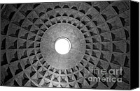 Geometric Photo Canvas Prints - The oculus Canvas Print by Fabrizio Troiani