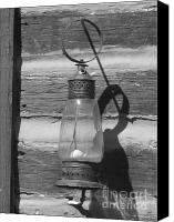 Oil Lamp Canvas Prints - The Oil Lamp Canvas Print by Jennifer Sabir