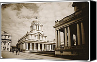 Naval College Canvas Prints - The Old Naval College at Greenwich Canvas Print by Brian Benson