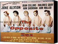 1956 Movies Canvas Prints - The Opposite Sex, June Allyson, Joan Canvas Print by Everett
