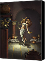 Casa Grande Canvas Prints - The Oracle Canvas Print by Michael Trujillo