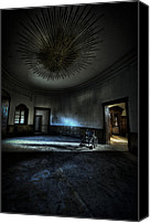 Haunted House Canvas Prints - The oval star room Canvas Print by Nathan Wright