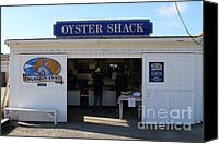 Point Reyes National Seashore Canvas Prints - The Oyster Shack at Drakes Bay Oyster Company in Point Reyes California . 7D9835 Canvas Print by Wingsdomain Art and Photography
