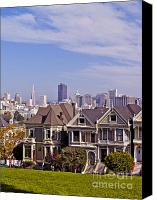 Painted Ladies Canvas Prints - The Painted Ladies Canvas Print by Alex Cassels