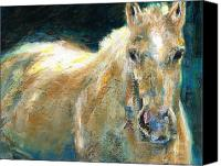 Frances Marino Canvas Prints - The Palomino Canvas Print by Frances Marino