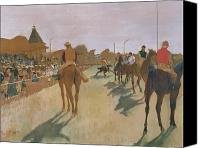 Parade Painting Canvas Prints - The Parade Canvas Print by Edgar Degas