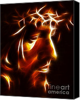 The King Canvas Prints - The Passion of Christ Canvas Print by Pamela Johnson