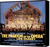 Torch Canvas Prints - The Phantom Of The Opera Canvas Print by Granger