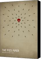Featured Canvas Prints - The Pied Piper Canvas Print by Christian Jackson