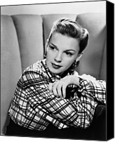 1948 Movies Canvas Prints - The Pirate, Judy Garland, 1948 Canvas Print by Everett