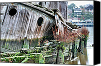 Ship Wreck Canvas Prints - The Planter Canvas Print by JC Findley