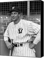  New York Yankees Canvas Prints - The Pride Of The Yankees, Gary Cooper Canvas Print by Everett