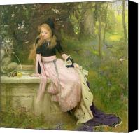 Swallow Canvas Prints - The Princess and the Frog Canvas Print by William Robert Symonds