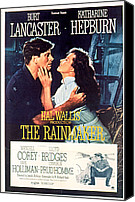 1956 Movies Canvas Prints - The Rainmaker, Burt Lancaster Canvas Print by Everett