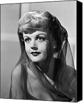 1949 Movies Canvas Prints - The Red Danube, Angela Lansbury, 1949 Canvas Print by Everett