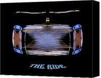 All Canvas Prints - The Ride Canvas Print by R Thomas Brass