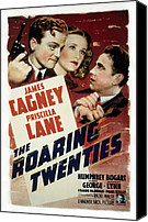Twenties Photo Canvas Prints - The Roaring Twenties, James Cagney Canvas Print by Everett