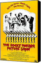 Horror Canvas Prints - The Rocky Horror Picture Show Canvas Print by Everett