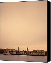 Naval College Canvas Prints - The Royal Naval College in Greenwich in London in the UK Canvas Print by Shaun Higson