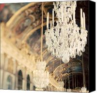 Chandelier Canvas Prints - The Secret History Canvas Print by Irene Suchocki