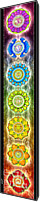 Sacral Canvas Prints - The Seven Chakras - Ed. 2012 Canvas Print by Dirk Czarnota