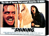 Kubrick Canvas Prints - The Shining, Jack Nicholson, Shelley Canvas Print by Everett