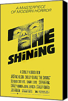 Kubrick Canvas Prints - The Shining, Poster Art, 1980 Canvas Print by Everett