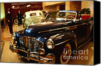 Convertibles Canvas Prints - The Showroom - 7D17425 Canvas Print by Wingsdomain Art and Photography