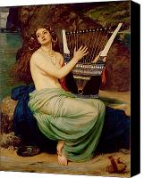Trap Canvas Prints - The Siren Canvas Print by Sir Edward John Poynter
