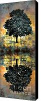 Tree  Canvas Prints - The Small Dreams of Trees Canvas Print by Tara Turner