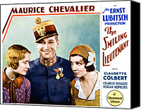 Chevalier Canvas Prints - The Smiling Lieutenant, From Left Canvas Print by Everett