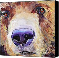 Originals Canvas Prints - The Sniffer Canvas Print by Pat Saunders-White