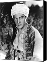 Publicity Shot Canvas Prints - The Son Of The Sheik, Rudolph Canvas Print by Everett