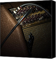 Amp Canvas Prints - The Sound of Vintage Tweed  Canvas Print by Steven  Digman