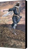 Tissot Canvas Prints - The Sower Canvas Print by Tissot