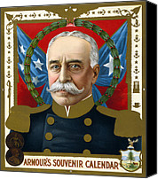 1890s Portrait Canvas Prints - The Spanish American War. Portrait Canvas Print by Everett