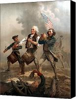 Continental Army Canvas Prints - The Spirit of 76 Canvas Print by War Is Hell Store