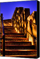 Tlaquepaque Canvas Prints - The Stairway at Tlaquepaque Canvas Print by David Patterson