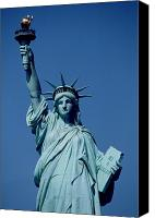 Torch Canvas Prints - The Statue of Liberty Canvas Print by American School