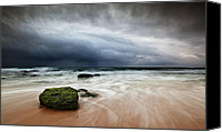 Storm Photo Canvas Prints - The storm Canvas Print by Jorge Maia