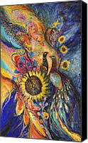 Signed Canvas Prints - The Sunflower ... visit www.elenakotliarker.com to purchase the original Canvas Print by Elena Kotliarker