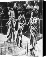 Concert Canvas Prints - THE SUPREMES, c1963 Canvas Print by Granger