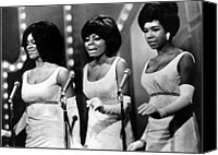 Opera Gloves Canvas Prints - The Supremes Florence Ballard, Diana Canvas Print by Everett