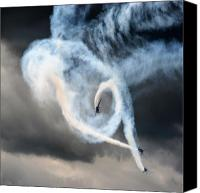 Extra 300 Canvas Prints - The Swirl Canvas Print by Angel  Tarantella