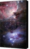 Luminous Canvas Prints - The Sword Of Orion Canvas Print by Robert Gendler