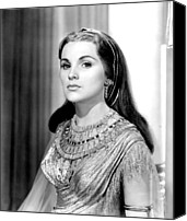 1956 Movies Photo Canvas Prints - The Ten Commandments, Debra Paget, 1956 Canvas Print by Everett
