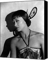 May Canvas Prints - The Thief Of Bagdad, Anna May Wong Canvas Print by Everett